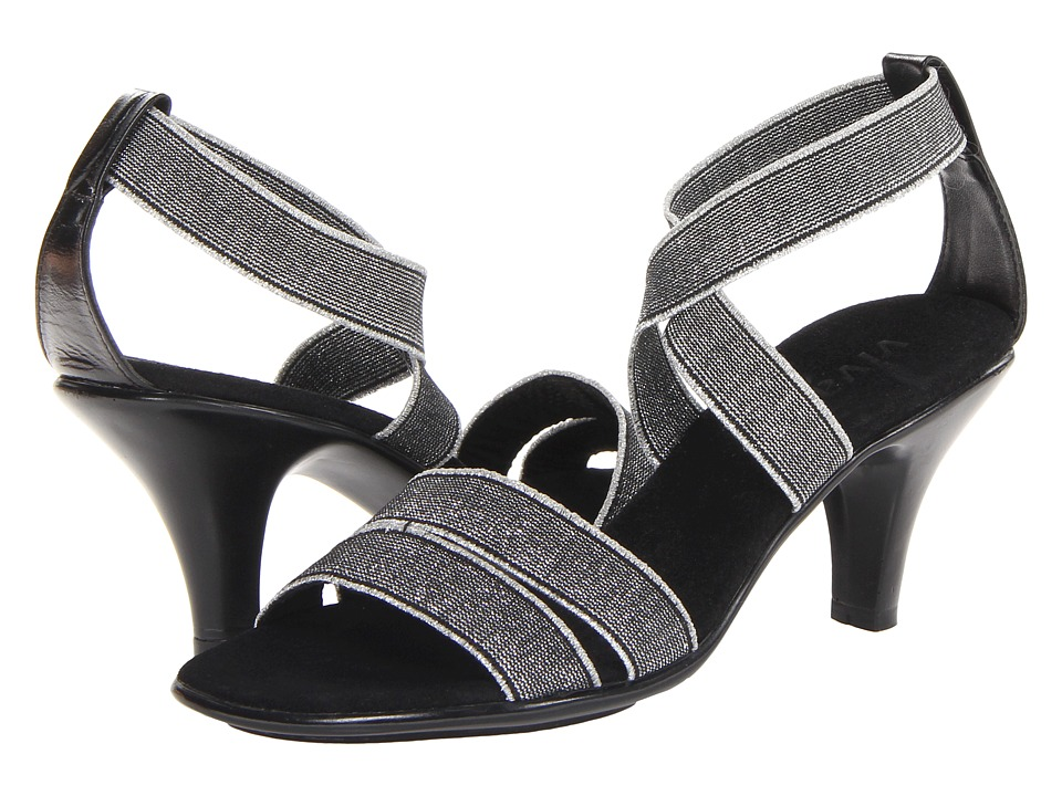 Vivanz - Celine (Silver) Women's Dress Sandals
