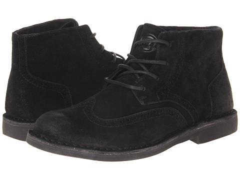 Lugz - Corbin Mid (Black/Deep Teal Lace) Men's Shoes