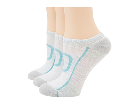 Keen - Zip Hyperlite No Show 3 Pack (Light Sea Foam/Soft Gray/Dusty) Women's Quarter Length Socks Shoes