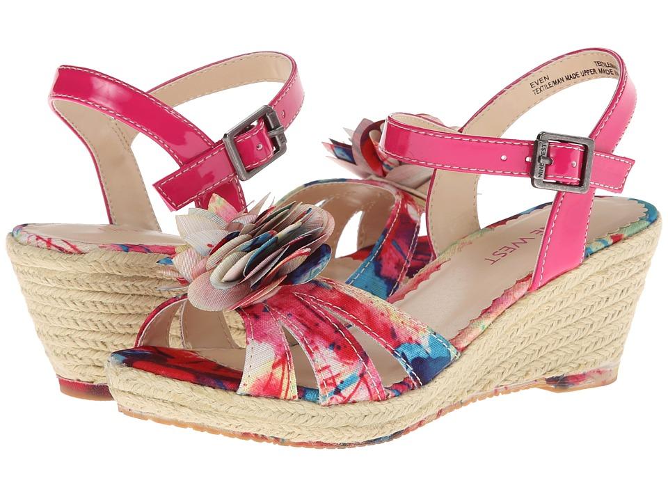 Nine West Kids - Even (Little Kid/Big Kid) (Pink) Girls Shoes