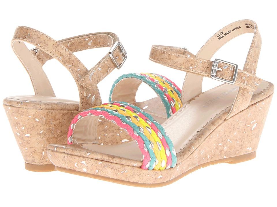 Nine West Kids - Edie (Little Kid/Big Kid) (Pink/Cork) Girls Shoes