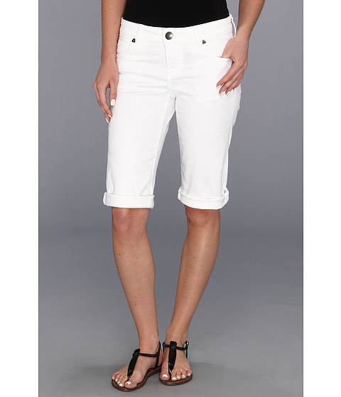 KUT from the Kloth - Roll Up Bermuda in White (White) Women