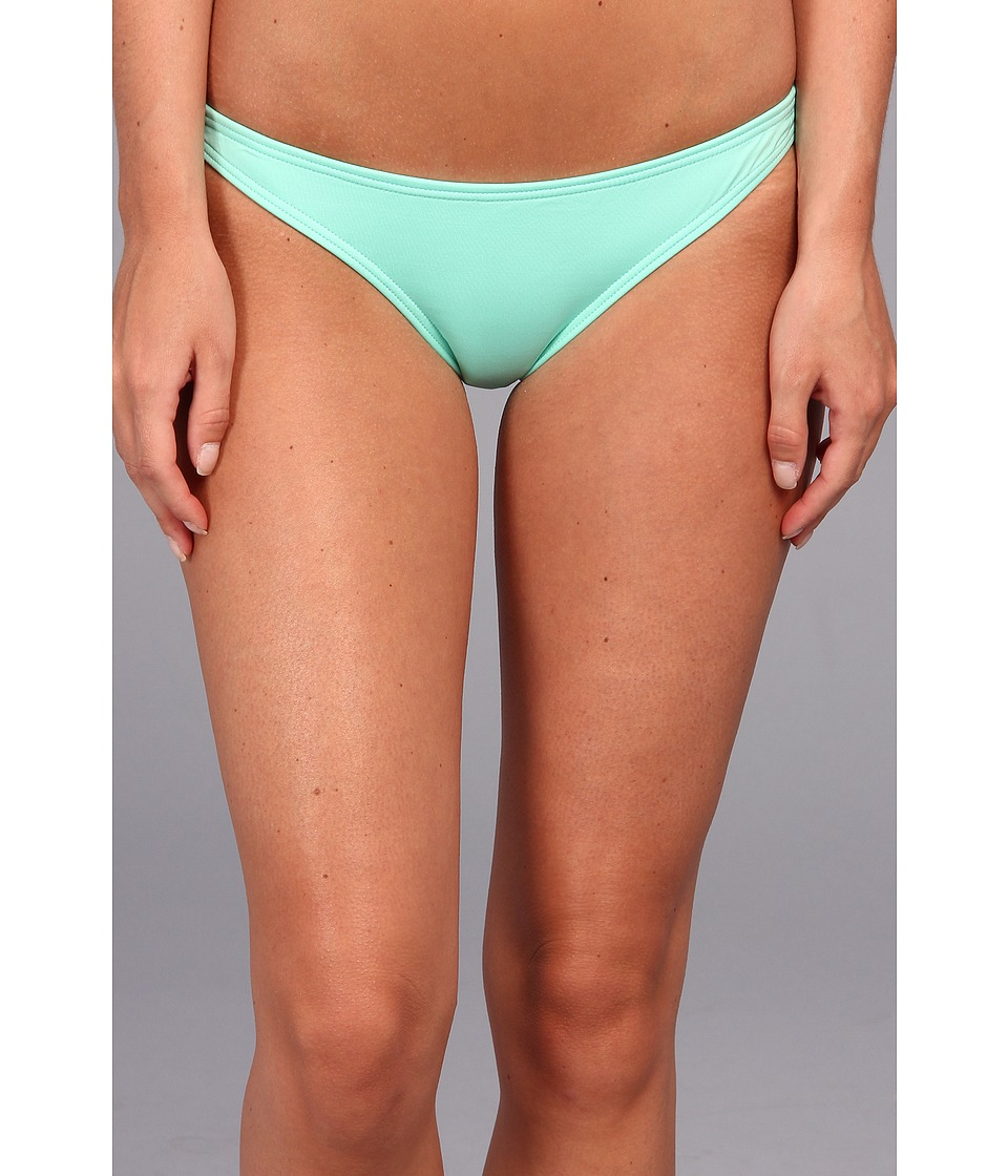 Volcom - Simply Solid Full Bikini Bottom (Seaglass) Women's Swimwear