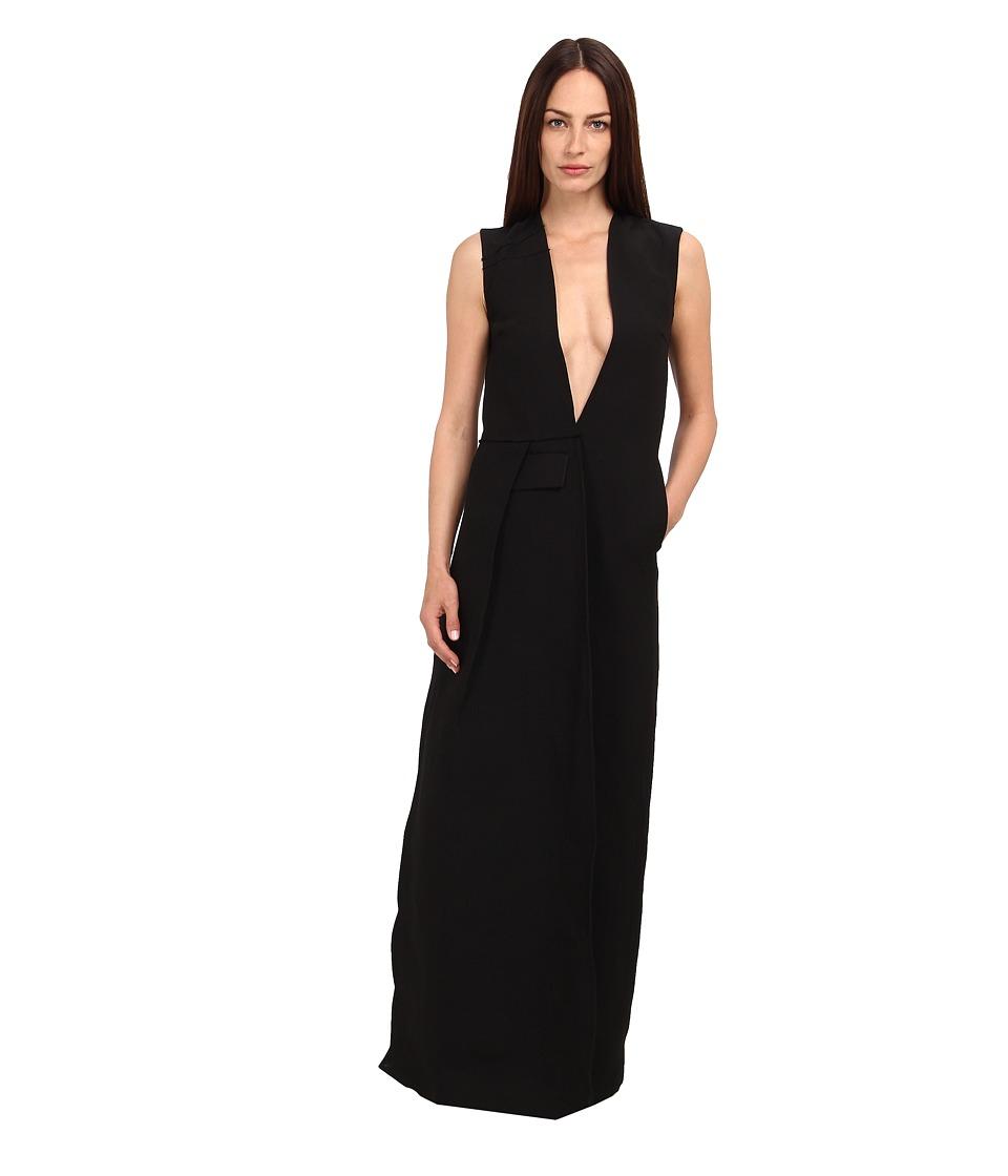 CoSTUME NATIONAL - CW0466P Dress (Nero) Women's Dress
