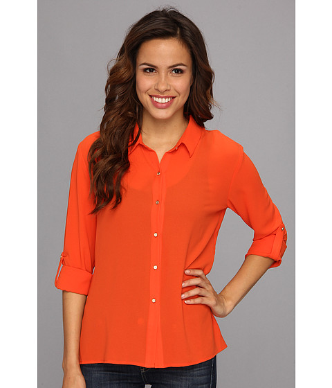 KUT from the Kloth - Ellie Top (Orange) Women