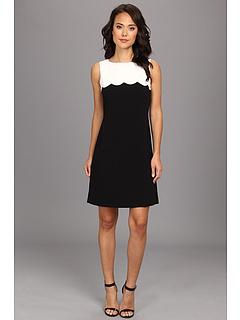 SALE! $64.99 - Save $53 on Tahari by ASL Teresa Dress (Black White) Apparel - 44.92% OFF $118.00