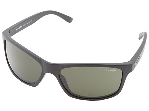 Arnette - Pipe (Fuzzy Black/Grey/Green) Sport Sunglasses