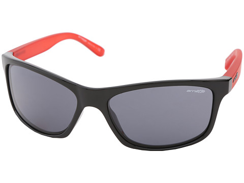 Arnette - Pipe (Gloss Black/Gum Cherry/Grey) Sport Sunglasses