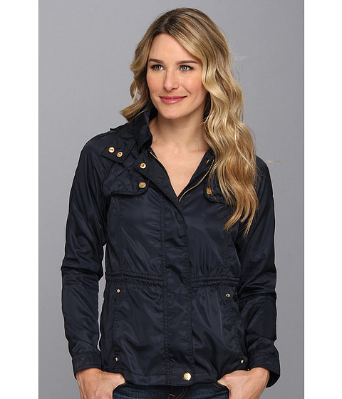 Vince Camuto - Quilt Detail Short Anorak F8571 (Navy) Women