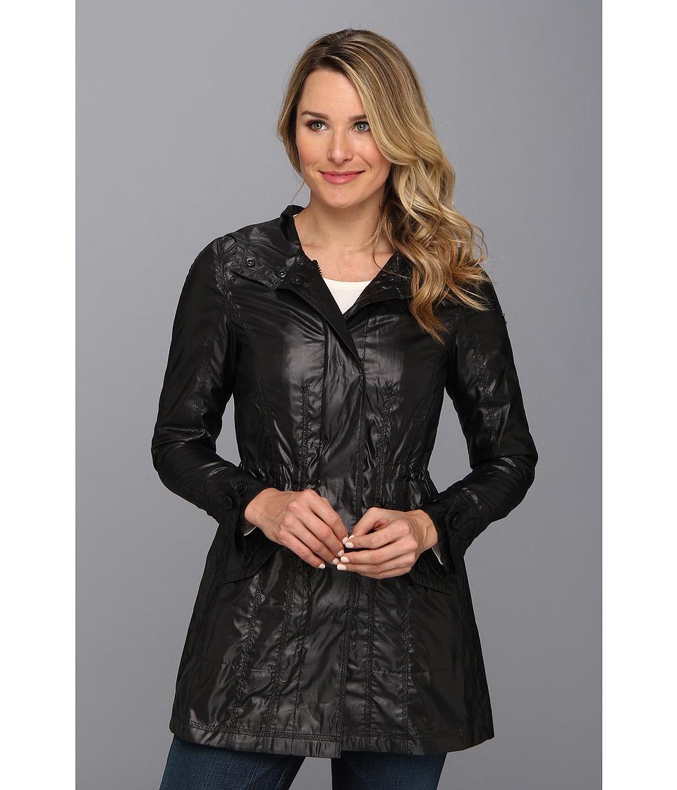 Vince Camuto - Hooded Anorak F8721 (Black) Women's Coat