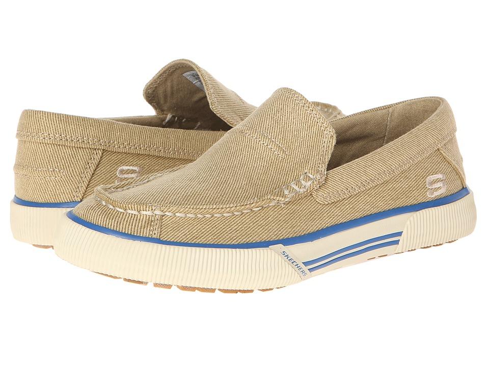 446538f28364 SKECHERS KIDS Naven Spencer 93671L Boys Shoes (Beige) on PopScreen