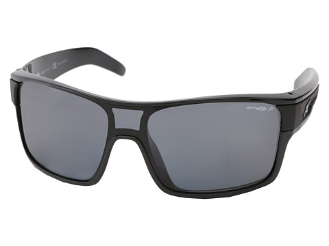 Arnette - Shore House (Gloss Black w/ Grey Polar) Sport Sunglasses