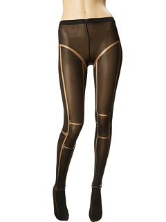 SALE! $86.99 - Save $28 on Wolford Robot Tights (Black Black) Hosiery - 24.36% OFF $115.00