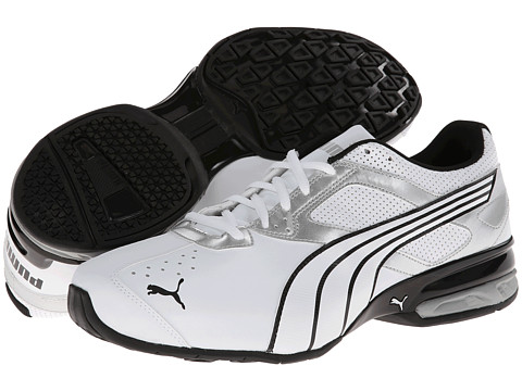 PUMA - Tazon 5 NM (White/Puma Silver/Black) Men's Running Shoes