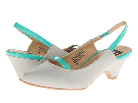 BC Footwear - Take A Break (Light Grey/Sea Green) Women's 1-2 inch heel Shoes