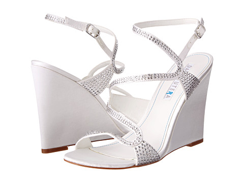 David Tutera - Splendor (White) Women's Wedge Shoes