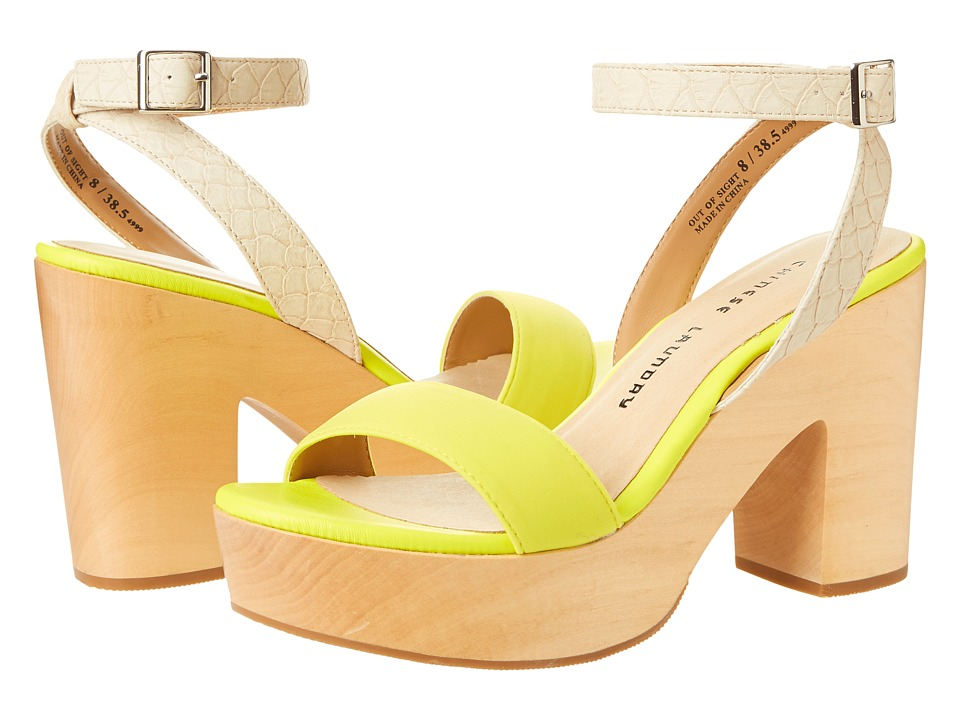 Chinese Laundry - Out of Sight (Lime Punch) High Heels