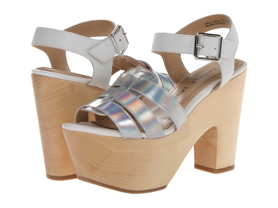 Chinese Laundry - Melt Down (Silver/White) High Heels