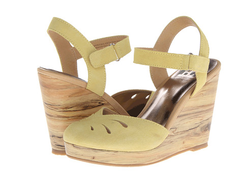 BC Footwear - Good Fun (Yellow) Women's Wedge Shoes