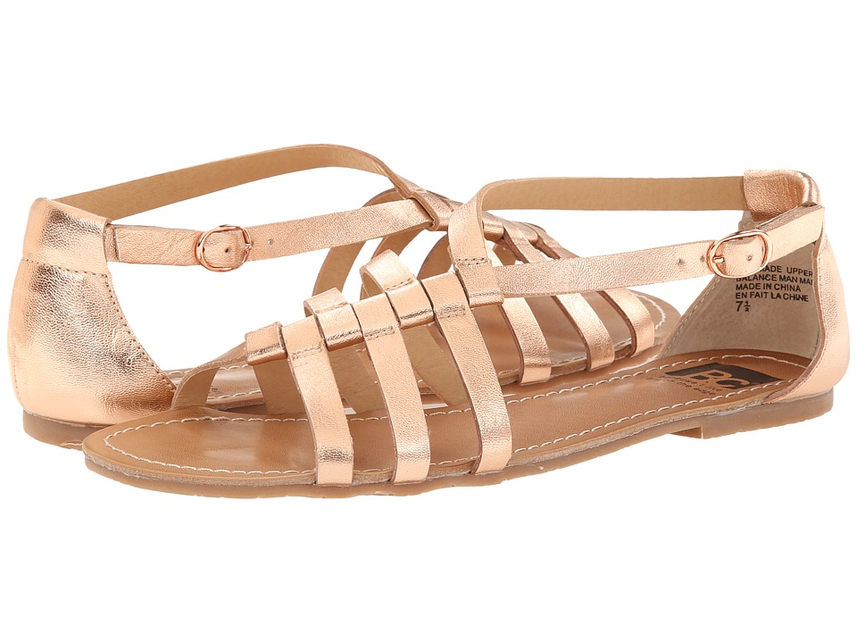 BC Footwear - At Large (Rose Gold) Women's Sandals