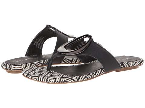 VOLATILE - Ellipse (Black) Women's Sandals