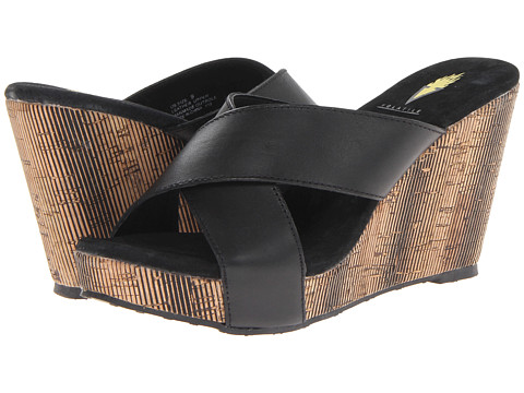 VOLATILE - Rockaway (Black) Women's Sandals