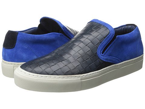 Moods of Norway - Briskeby Low Low Shoe (Electric Blue) Men's Slip on Shoes
