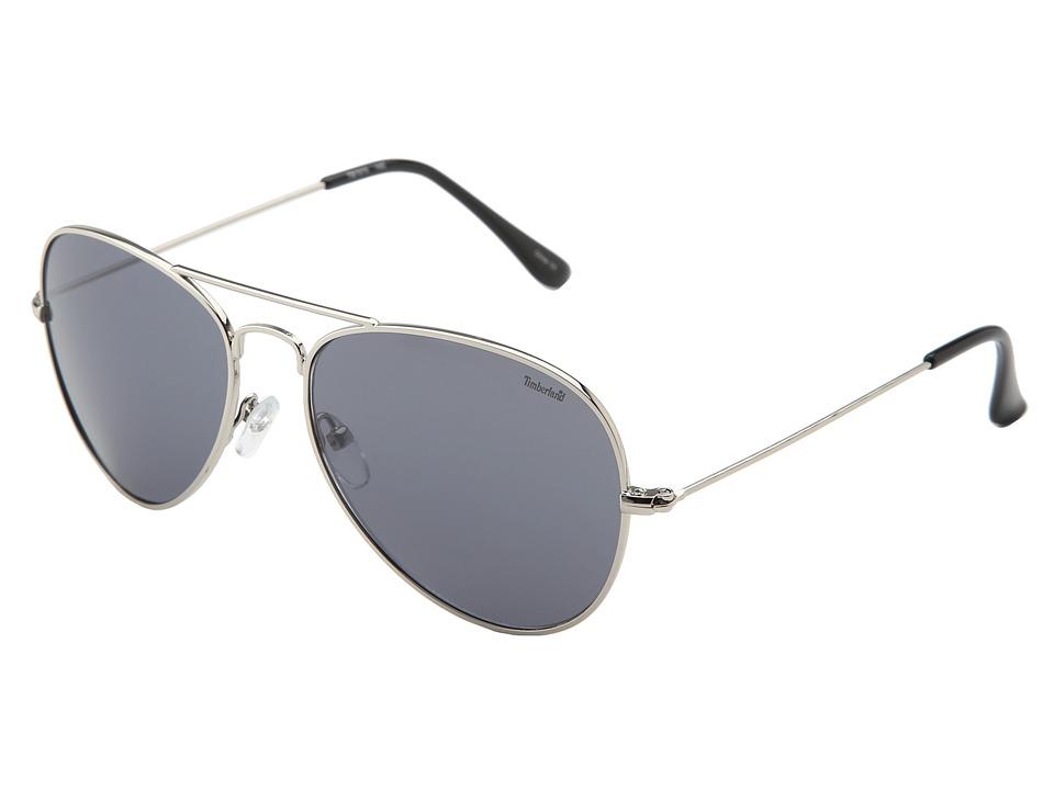 Timberland - TB7075 (Silver/Mirror Gray) Fashion Sunglasses