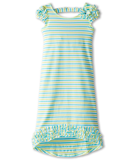 Kate Mack - Sun Circus Dress Maxi (Little Kids) (Aqua Blue) Girl's Dress