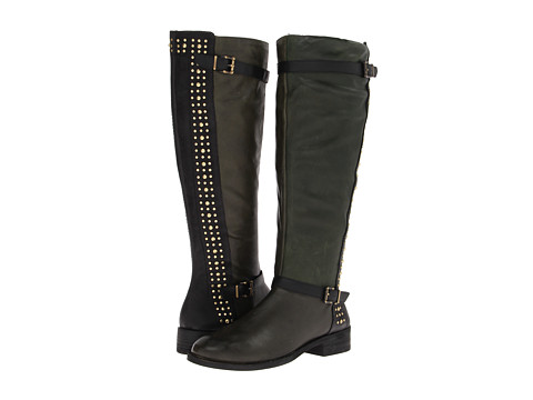 Jessica Simpson - Ellister (Military Fatigue Combo Leather) Women's Shoes