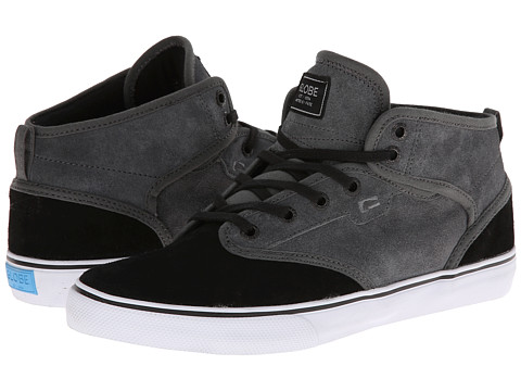 Globe - Motley Mid (Charcoal/Black) Men's Skate Shoes