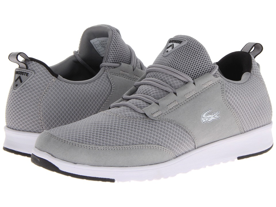 Lacoste - L.Ight-01 (Grey/Grey) Men's Shoes