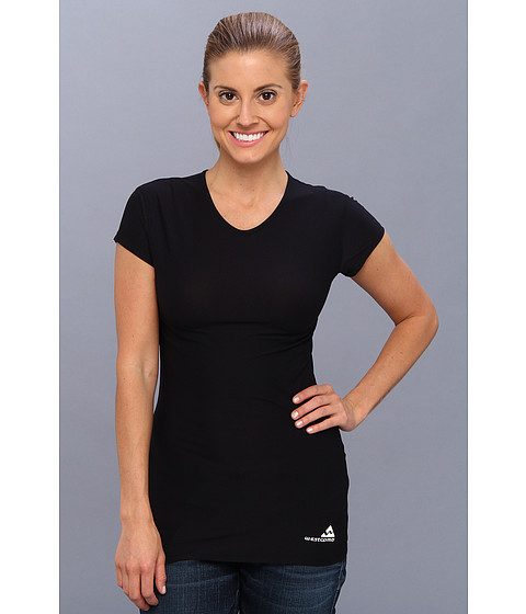 Westcomb - Pulse Crew (Black) Women's Short Sleeve Pullover