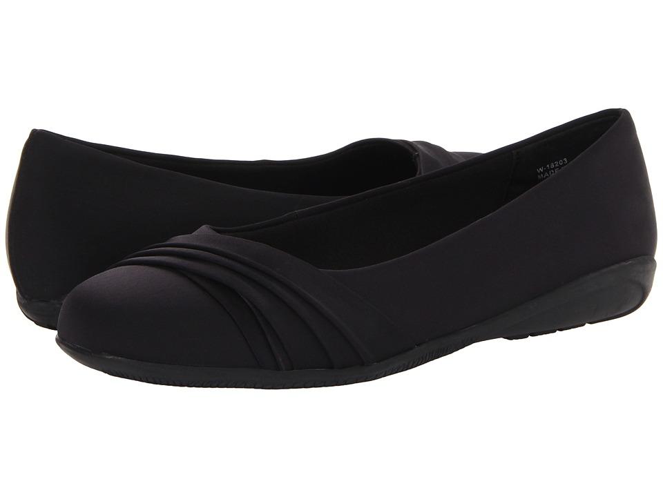 Sale Walking Cradles Neat Womens Black Micro flats NFGFALZo