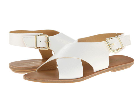 Dirty Laundry - Beatbox (White Tumble) Women's Sandals