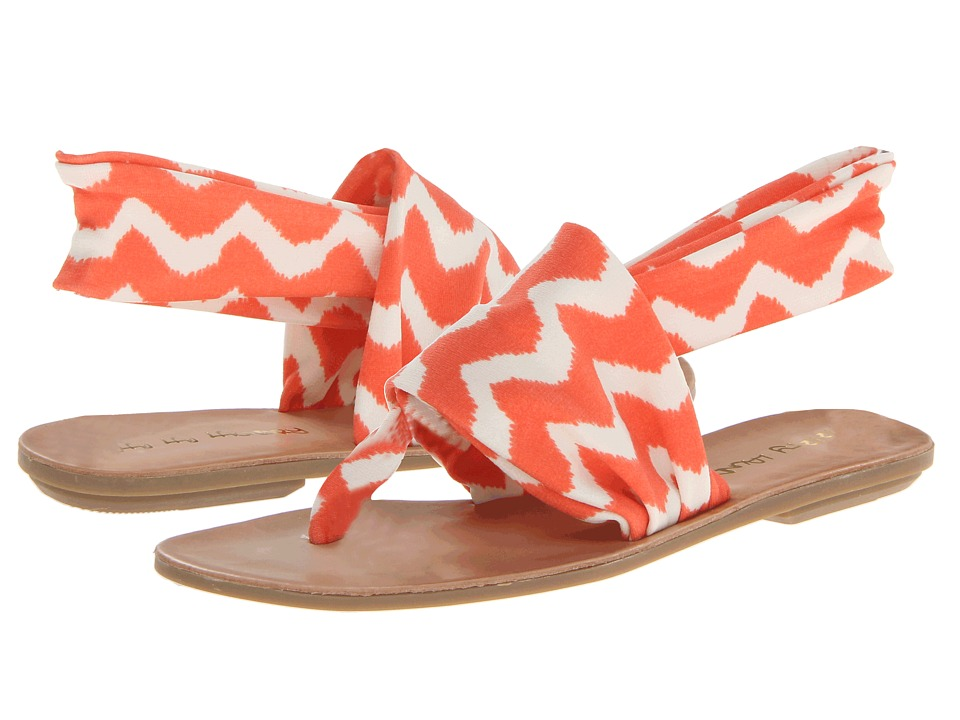 Dirty Laundry - Beebop (Coral Zig Zag) Women's Sandals