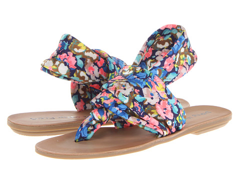 Dirty Laundry - Beebop (Blue Multi Flower) Women's Sandals