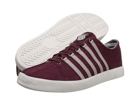 K-Swiss - The Classic Lite T (Wine/Cloud Dancer/Tree Bark) Men