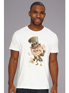 SALE! $16.99 - Save $13 on Lucky Brand Leprechaun Tee (Bright White) Apparel - 42.41% OFF $29.50