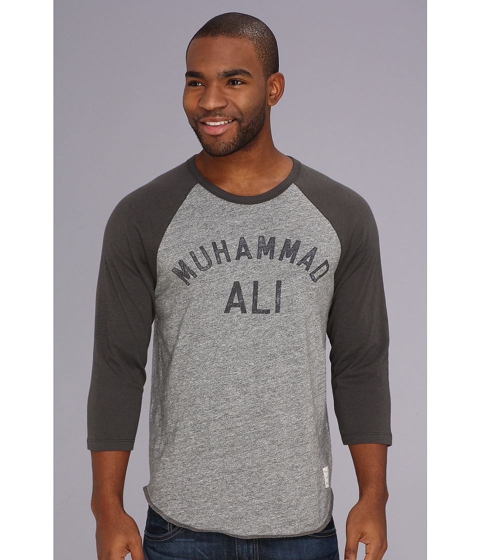 Lucky Brand Muhammad Ali Baseball Mens T Shirt (Blue)