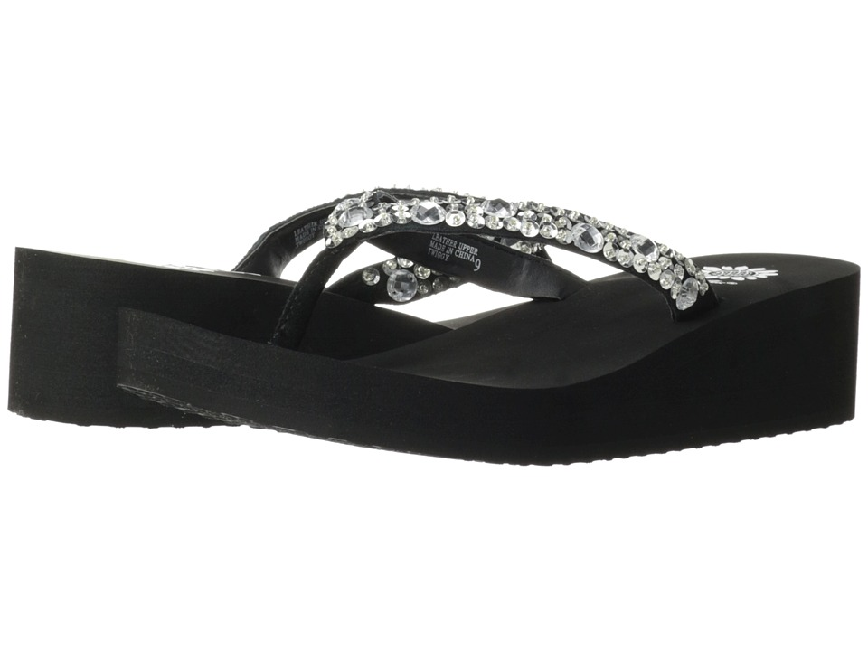 Yellow Box - Twiggy (Black) Women's Sandals