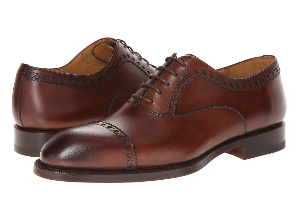 Magnanni - Luca (Mid-Brown) Men's Shoes