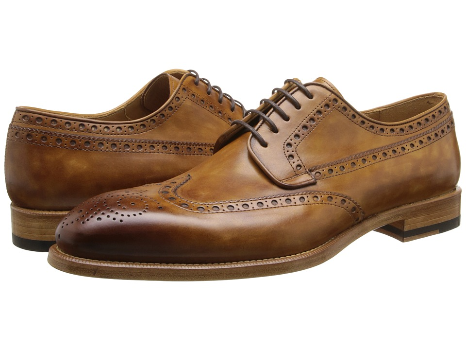 Magnanni - Roda (Cuero) Men's Lace Up Wing Tip Shoes