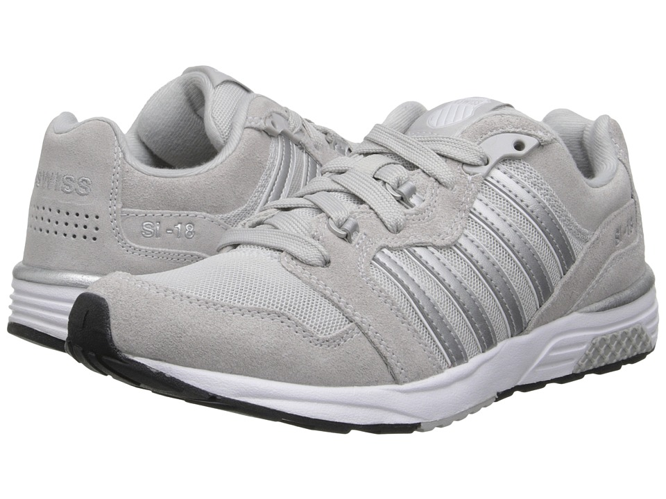K-Swiss - SI-18 Rannell 2 (Gull Gray/Silver) Women's Shoes