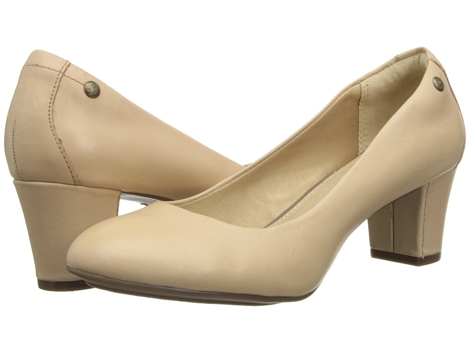 Hush Puppies - Imagery Pump (Nude Leather) High Heels