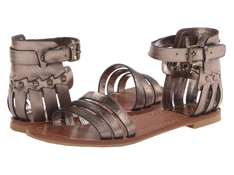 DV by Dolce Vita - Daffodil (Dark Silver) Women's Sandals