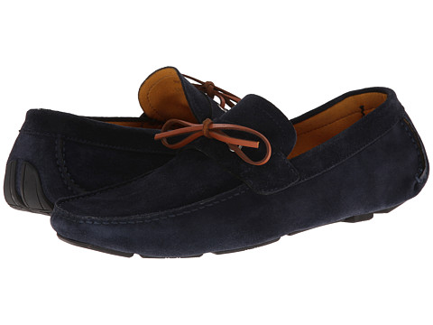Magnanni - Dario (Navy) Men's Slip on Shoes