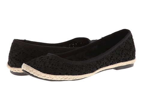 Rocket Dog - Montana (Black/Floret) Women's Flat Shoes