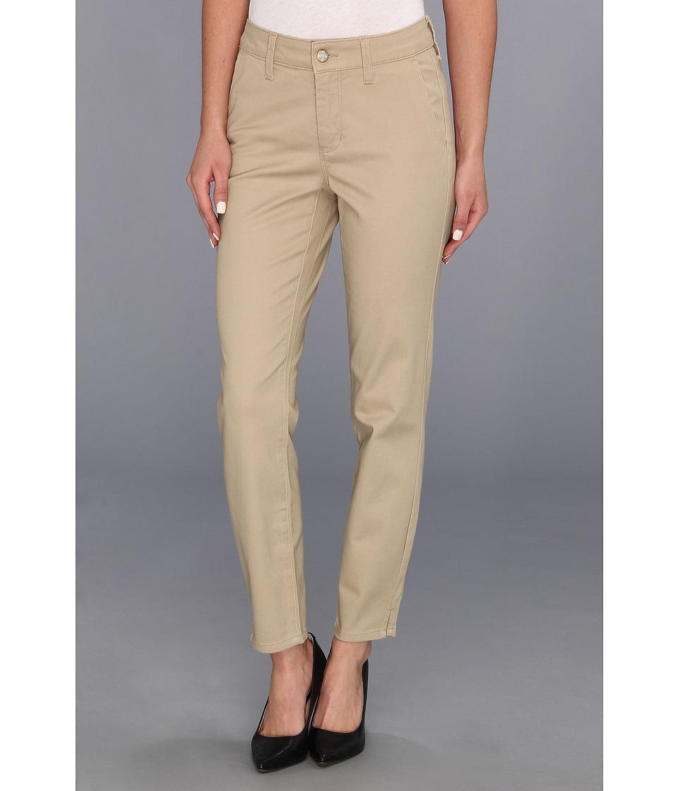NYDJ - Aileen Ankle Trouser Sanded Twill (Almond) Women's Casual Pants