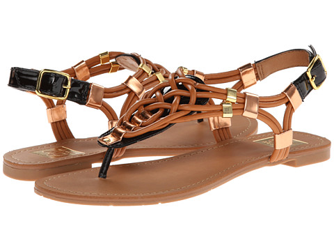 DV by Dolce Vita - Darin (Black/Honey) Women's Sandals